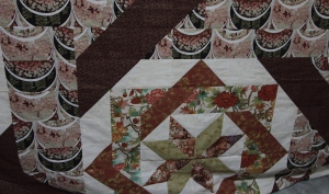 Prior to quilting