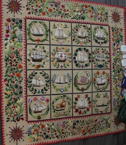 Best of Show Quilt - pattern is Ladies of the Sea by Sue Garman.