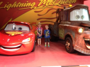 McQueen and Mater