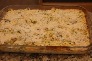 This casserole was really good!