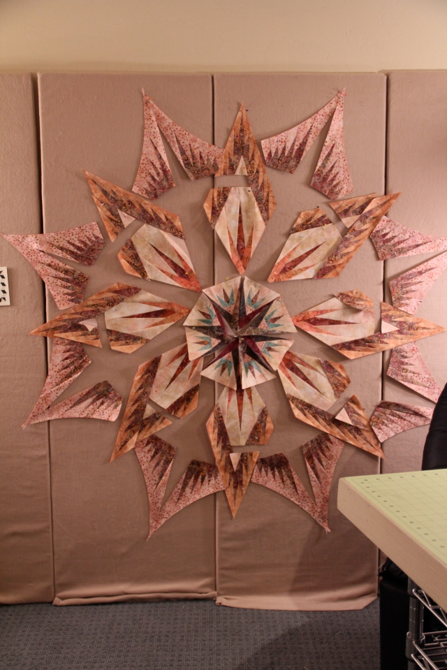 Back Door Quilt Shoppe's new Mariner's Compass - Lauren is form Billings, MT