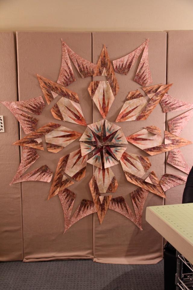 Back Door Quilt Shoppe's new Mariner's Compass - Lauren is form Billings, MT