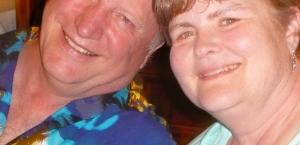 Uncle John and his beautiful bride Kathy