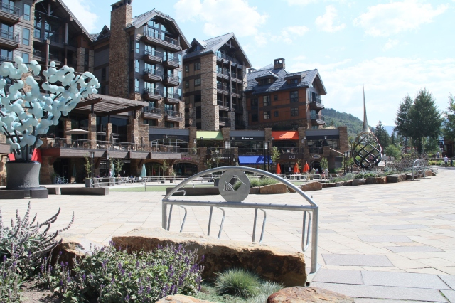We thoroughly enjoyed walking around Vail - so much to see and NO HUMIDITY!