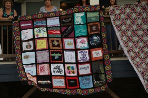 The monster T-Shirt Quilt!