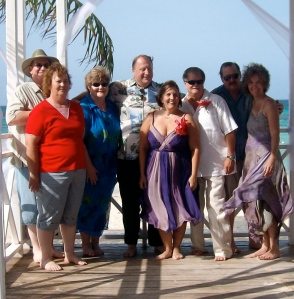 2008 Brittney got married in Jamaica - Here are 4 of Lorna's kids with their fabulous spouses!