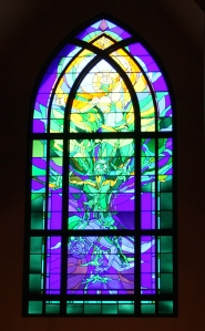 Beautiful stained glass is always inspiring.