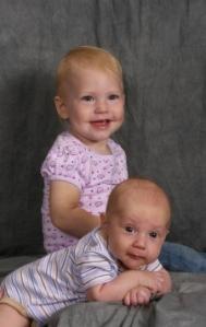The siblings!