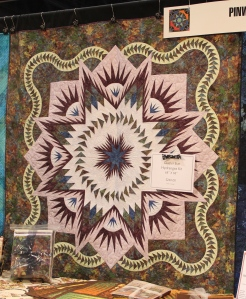 And quilters love purple so Peggy and I made a purple version