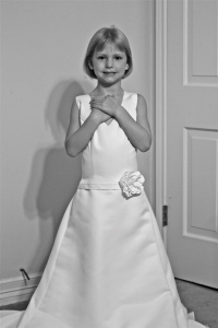 Every little girl dreams of her wedding......