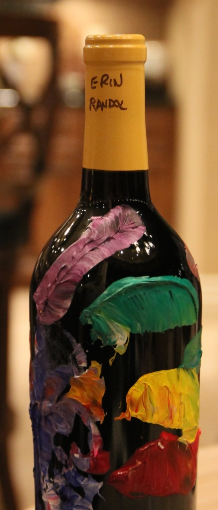 Love that wine?  How about that bottle?  Here is a great way to remember who gave it to you!