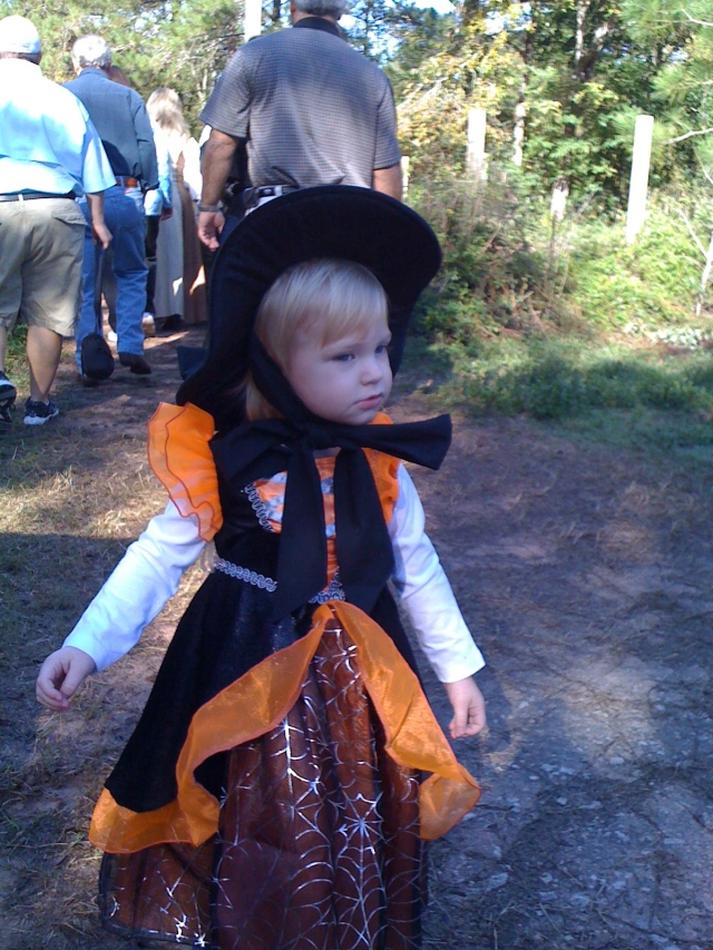 Little Toot was a very cute little witch!