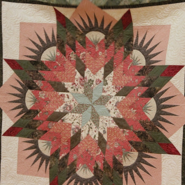 Kathy's Summer Solstice - quilting by Cindy Gravely