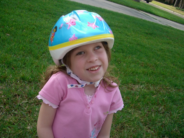 Rocking that helmet!