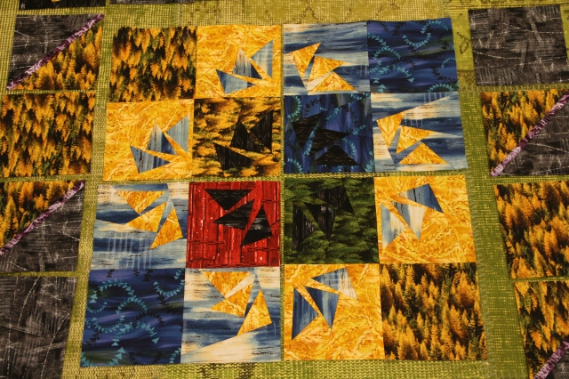 And here are your 4 quadrants all sewn
