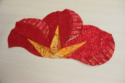 Ann's Poppy! Made using the pattern African Violet!
